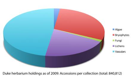 Holdings by collection